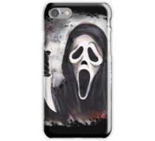 Do you like scary movies? iPhone Case/Skin