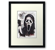 Do you like scary movies? Framed Print