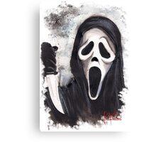 Do you like scary movies? Canvas Print