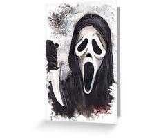 Do you like scary movies? Greeting Card