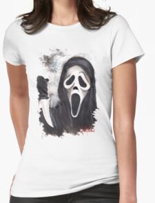 Do you like scary movies? Womens Fitted T-Shirt