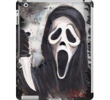 Do you like scary movies? iPad Case/Skin