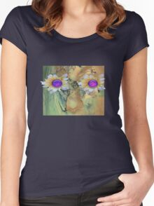 Nature. mother nature Women's Fitted Scoop T-Shirt