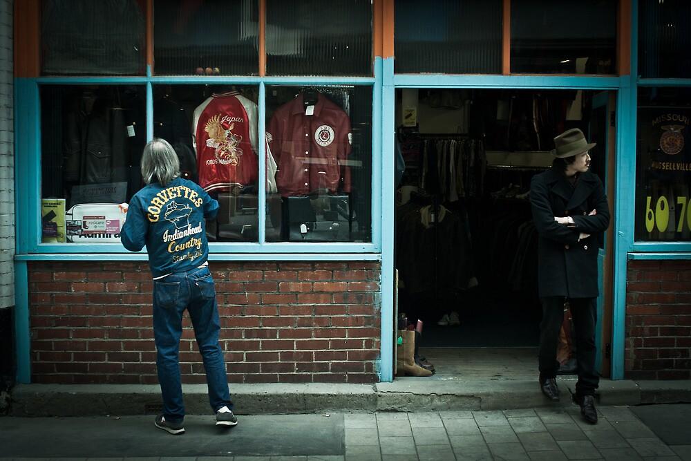 retro shop by Tony Day