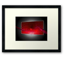REACHING FAR AND BEYOND Framed Print