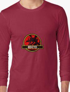Red Eyes Black Jurassic Dragon Long Sleeve T-Shirt