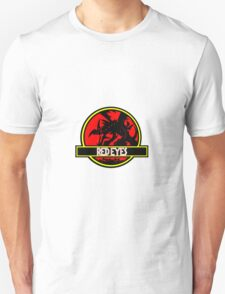 Red Eyes Black Jurassic Dragon Unisex T-Shirt