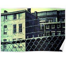"The ""Prison"" - Downtown Cincinnati Poster"