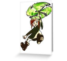 Lets Fly Link! Greeting Card