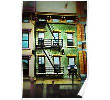 Bright Building - Downtown Cincinnati Poster