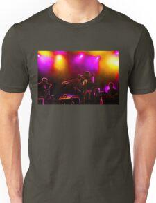 Jazz Trio - Musical Capriccio in Purple and Yellow Unisex T-Shirt