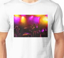 Jazz Trio - Musical Capriccio in Purple and Yellow Unisex T-Shirt