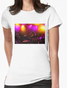 Jazz Trio - Musical Capriccio in Purple and Yellow Womens Fitted T-Shirt