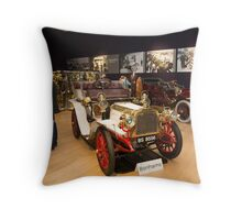 Inside Bonhams London to Brighton Run sale of Veteran Motor cars which takes place ahead of this weekends famous car run Throw Pillow