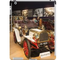 Inside Bonhams London to Brighton Run sale of Veteran Motor cars which takes place ahead of this weekends famous car run iPad Case/Skin