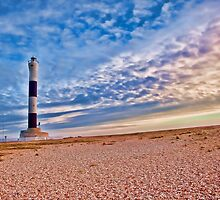 Dungeness Lighthouse by Natalie Durell