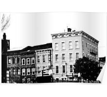 Row of Buildings 2 - Downtown Cincinnati Poster