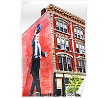Top Hat - Downtown Cincinnati Poster