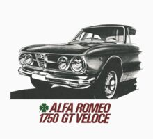 Alfa Romeo 1750 GT Veloce One Piece - Short Sleeve