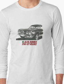 Alfa Romeo 1750 GT Veloce Long Sleeve T-Shirt