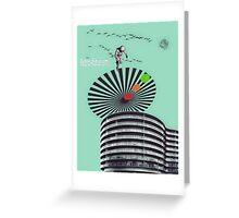 Retro-Futurism Greeting Card