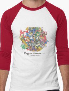 Penguin Mansion - Circle of Characters Men's Baseball ¾ T-Shirt