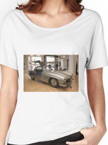 007 James Bond replica car at Bonhams London  Women's Relaxed Fit T-Shirt