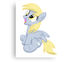 Just Derpy Canvas Print
