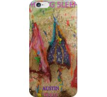 THE BIG SLEEP ~ AUSTIN TEXAS COMPETITION ENTRY - SXSW iPhone Case/Skin