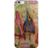 THE BIG SLEEP ~ AUSTIN TEXAS COMPETITION ENTRY - SXSW iPhone Case/Skin