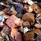 Pan Full Of Stones by marilyn diaz