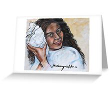 Phoebe's Little Angel Greeting Card