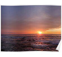 Hawaiian Sunset Poster