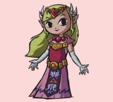 Princess Zelda Tee by Rainbowdropz