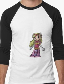 Princess Zelda Tee Men's Baseball ¾ T-Shirt