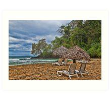 Panama. Bocas del Toro. Red Frog Beach. Art Print