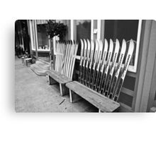 Reserved For Skiers Metal Print