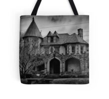 Gloom Settles Over The House On The Hill Tote Bag