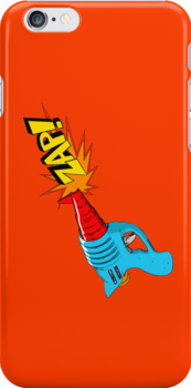 Raygun Zap Orange by LawrenceA