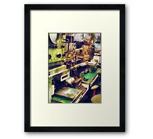 Radio Room Framed Print