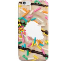 Donut with sprinkles food porn iPhone Case/Skin