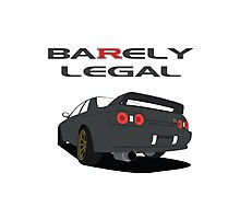 Ba(R)ely Legal Photographic Print