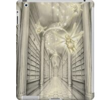 The White Library of the Elder Oeda iPad Case/Skin