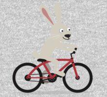 Bunny riding bike One Piece - Long Sleeve