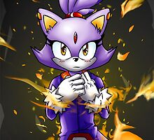 Blaze the Cat: Fire Within Me by Havocgirl