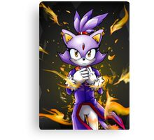 Blaze the Cat: Fire Within Me Canvas Print