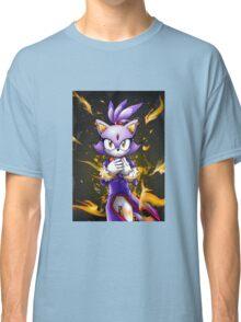 Blaze the Cat: Fire Within Me Classic T-Shirt