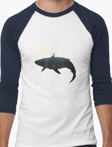 Midnight Burst Men's Baseball ¾ T-Shirt