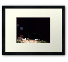 Orb Reporting Photograph #22 C Framed Print