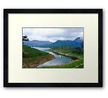 Maskeliya lake Sri Lanka Framed Print